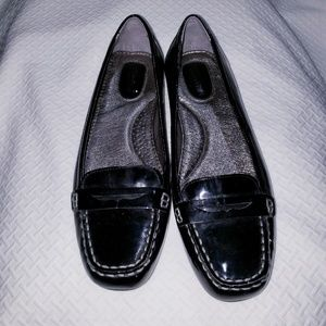 Sperry topsider black patent leather size 8.5m